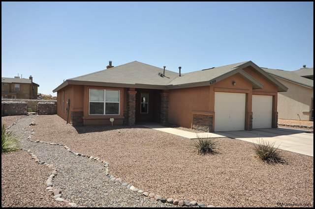 6309 Alina Baltazar Drive, El Paso, TX 79932 (MLS #849042) :: Red Yucca Group