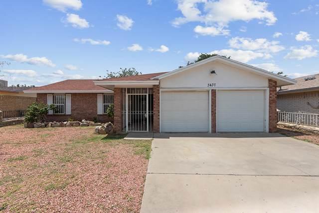 3437 Quanah Place, El Paso, TX 79936 (MLS #849044) :: Preferred Closing Specialists