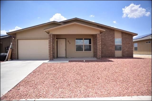 913 Maravillas Street, Horizon City, TX 79928 (MLS #849055) :: Red Yucca Group