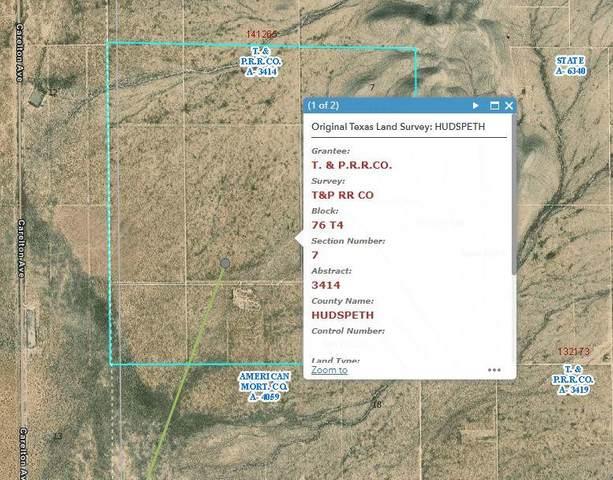 TBD Tbd, Sierra Blanca, TX 79851 (MLS #849227) :: Preferred Closing Specialists