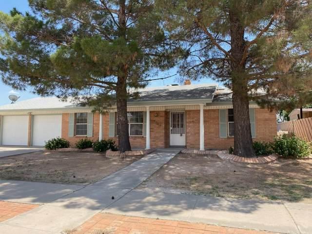 10704 Miller Barber Drive, El Paso, TX 79935 (MLS #849259) :: Mario Ayala Real Estate Group