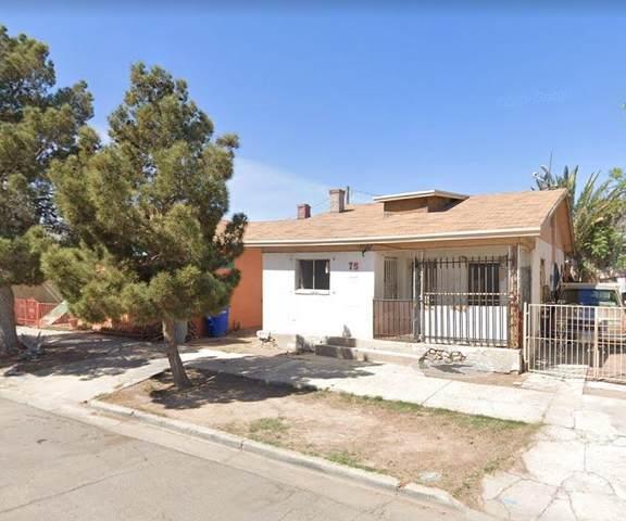75 S Cebada Street, El Paso, TX 79905 (MLS #849315) :: Red Yucca Group