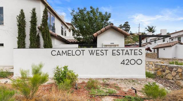 4200 Camelot Heights #3, El Paso, TX 79912 (MLS #849684) :: Red Yucca Group