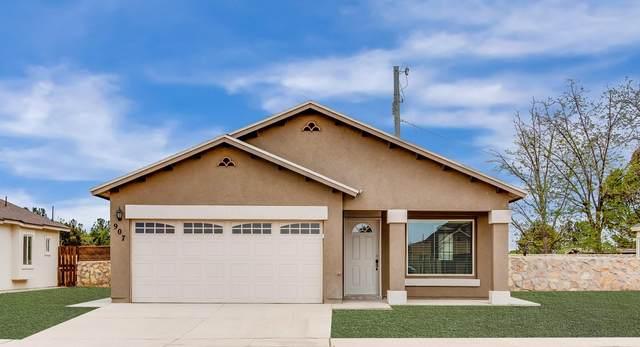 409 Villa Ysleta Drive, Socorro, TX 79927 (MLS #849732) :: The Purple House Real Estate Group
