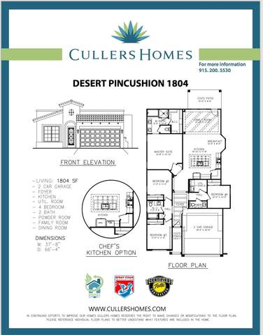 12820 Dorchester Avenue, El Paso, TX 79928 (MLS #849751) :: The Purple House Real Estate Group