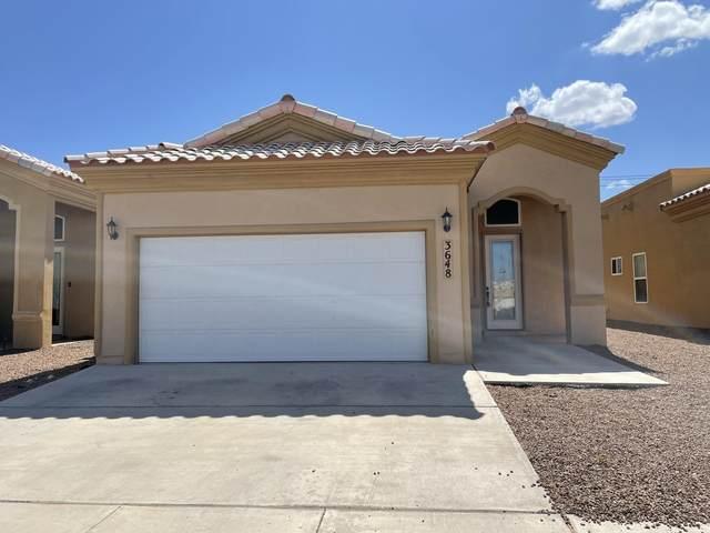 3648 Grand Bahamas Drive, El Paso, TX 79936 (MLS #849756) :: Red Yucca Group