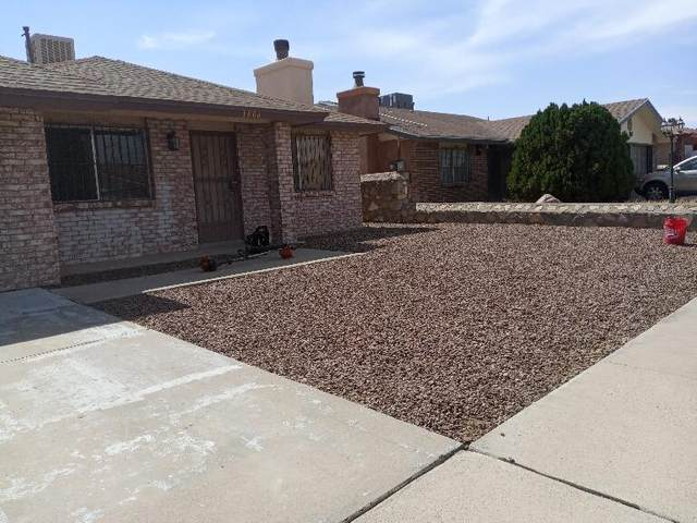 1808 Agua Dulce Street, El Paso, TX 79936 (MLS #849771) :: The Purple House Real Estate Group