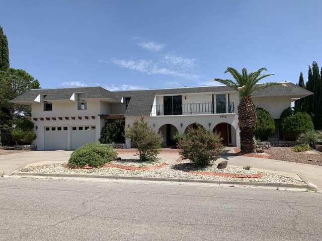 1512 Rocky Bluff Drive, El Paso, TX 79902 (MLS #849887) :: Mario Ayala Real Estate Group