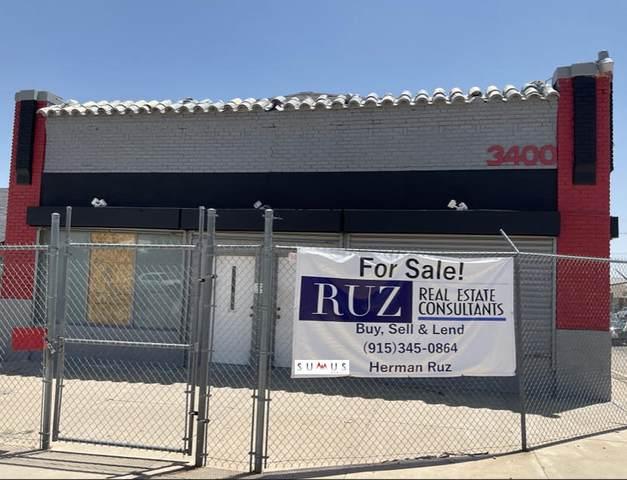 3400 Fort Boulevard, El Paso, TX 79930 (MLS #849920) :: Mario Ayala Real Estate Group