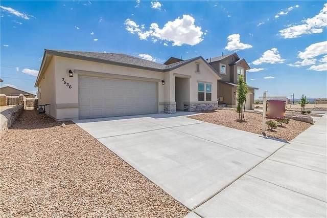 7536 Eagle Vista Drive, El Paso, TX 79911 (MLS #850125) :: The Matt Rice Group