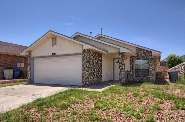 2361 Tierra Humeda Drive, El Paso, TX 79938 (MLS #850183) :: Red Yucca Group