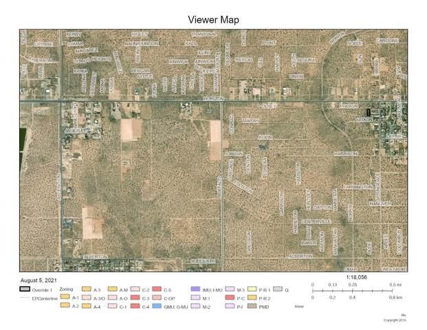 98 Horizon City, Horizon City, TX 79928 (MLS #850371) :: The Matt Rice Group