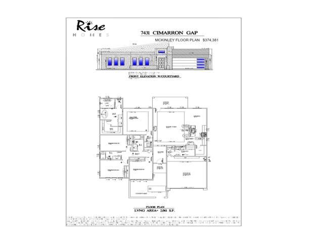 7431 Cimarron Gap Drive, El Paso, TX 79911 (MLS #850642) :: Jackie Stevens Real Estate Group