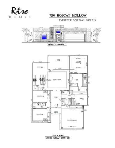 7299 Bobcat Hollow Drive, El Paso, TX 79911 (MLS #850645) :: Jackie Stevens Real Estate Group