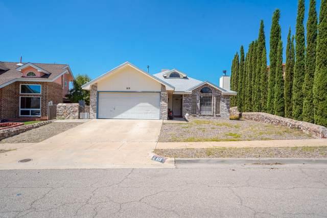 813 Cloudburst Drive, El Paso, TX 79912 (MLS #851393) :: Jackie Stevens Real Estate Group