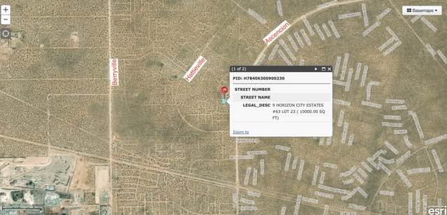 TBD Tbd, Horizon City, TX 79928 (MLS #851415) :: Summus Realty
