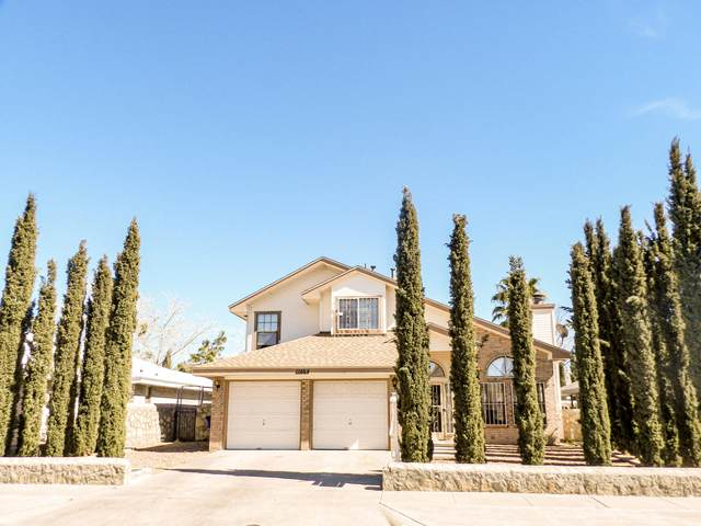 11464 David Carrasco Drive, El Paso, TX 79936 (MLS #851477) :: The Matt Rice Group