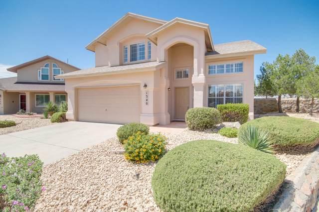 1340 Bonfire Hill Way, El Paso, TX 79936 (MLS #851509) :: The Purple House Real Estate Group