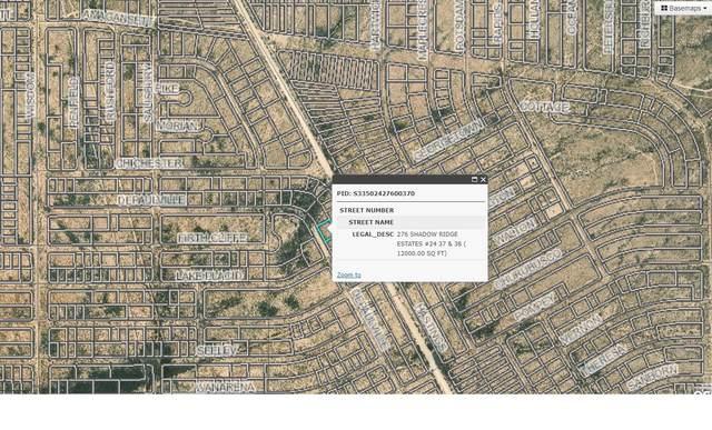 0 Depaulville Road, El Paso, TX 79938 (MLS #851602) :: Jackie Stevens Real Estate Group