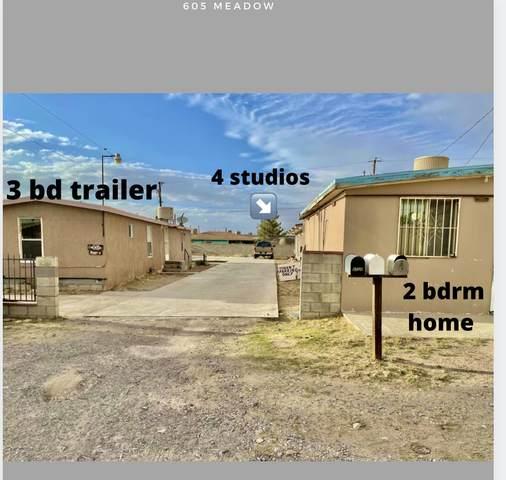 605 Meadow Road, Canutillo, TX 79835 (MLS #851944) :: Jackie Stevens Real Estate Group