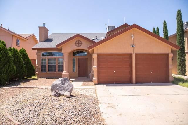 5833 Sixta Drive, El Paso, TX 79932 (MLS #851984) :: Red Yucca Group