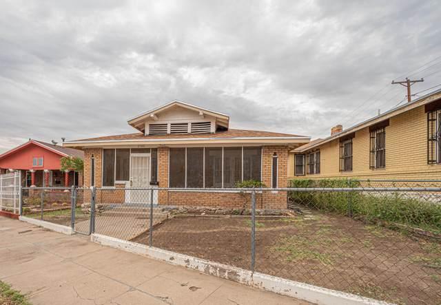 1705 N Stevens Street, El Paso, TX 79903 (MLS #852044) :: The Purple House Real Estate Group