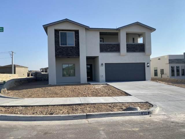 308 Playa Tronones, El Paso, TX 79932 (MLS #852080) :: Preferred Closing Specialists