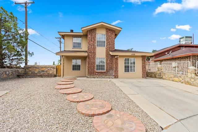 1038 Green Lilac Circle, El Paso, TX 79915 (MLS #852255) :: Red Yucca Group