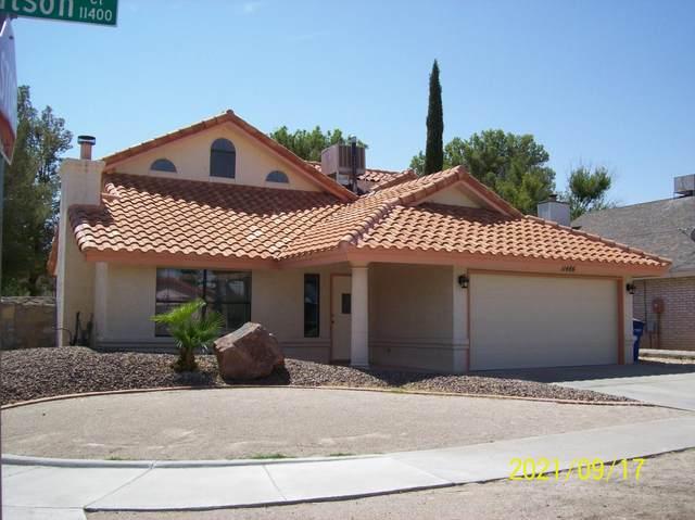 11486 Joe Watson Court, El Paso, TX 79936 (MLS #852329) :: Summus Realty