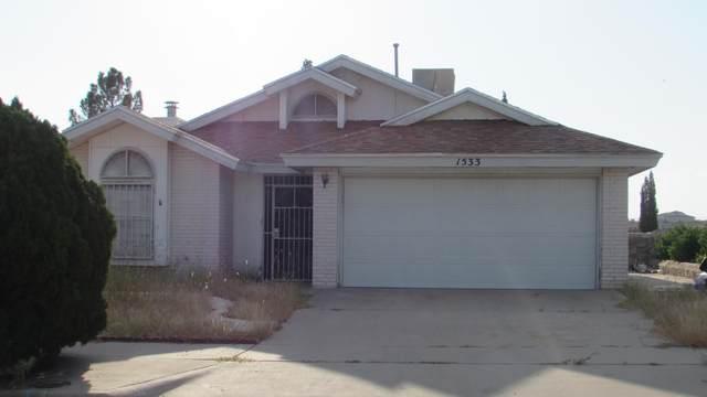 1533 Peter Hurd Drive, El Paso, TX 79936 (MLS #852416) :: Preferred Closing Specialists