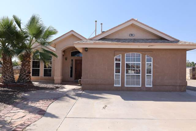 401 Valle Calido Drive, Socorro, TX 79927 (MLS #852438) :: The Purple House Real Estate Group