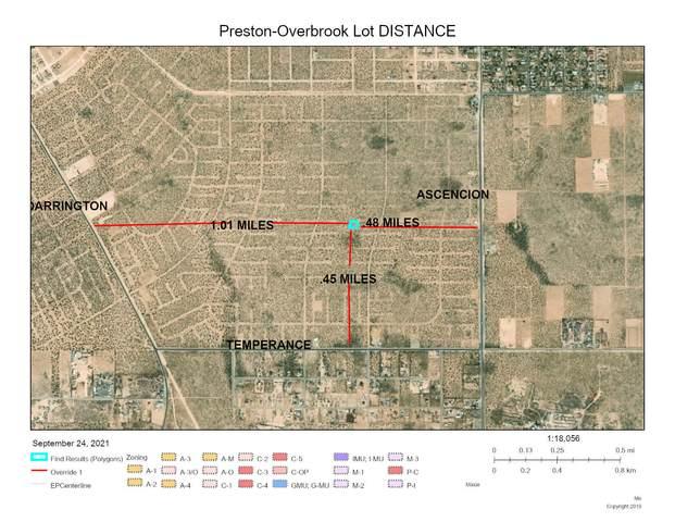 TBD Preston Street, Horizon City, TX 79928 (MLS #852581) :: The Purple House Real Estate Group