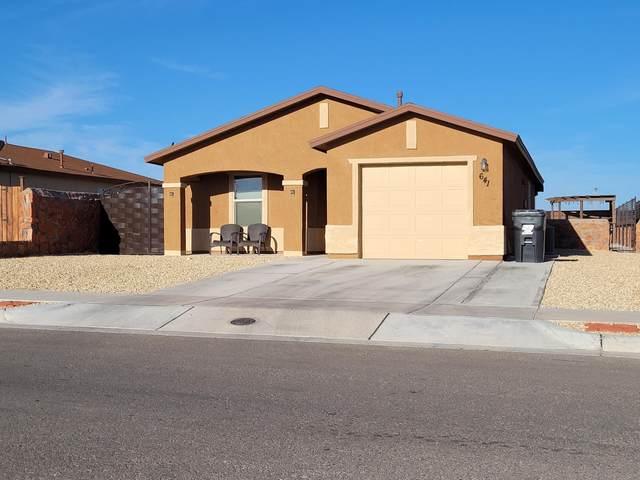 641 Nuevo Desierto Drive, El Paso, TX 79928 (MLS #852586) :: The Purple House Real Estate Group
