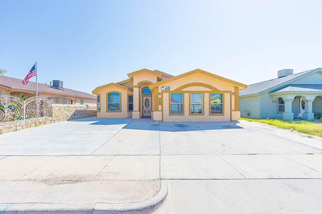 740 Teichelkamp Dr Drive, Horizon City, TX 79928 (MLS #852589) :: The Purple House Real Estate Group