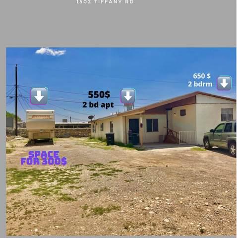 1502 Tiffany Road Road, Canutillo, TX 79835 (MLS #852621) :: Jackie Stevens Real Estate Group