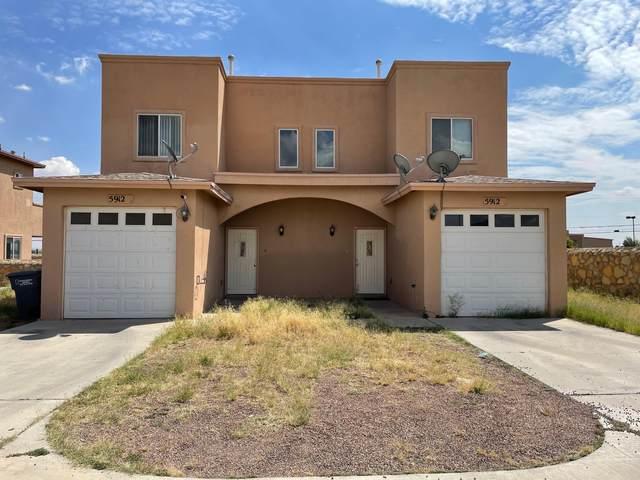 5912 Cielo Del Rey Place A & B, El Paso, TX 79924 (MLS #852826) :: Red Yucca Group
