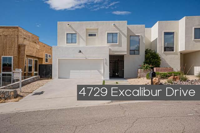 4729 Excalibur Drive A, El Paso, TX 79902 (MLS #852851) :: The Purple House Real Estate Group