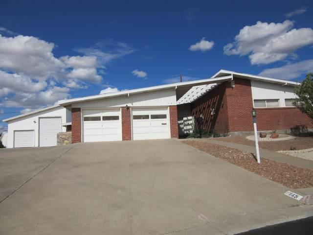 145 Puma Circle, El Paso, TX 79912 (MLS #852859) :: Red Yucca Group