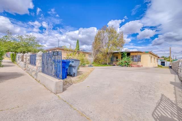 4013 Thomason Avenue, El Paso, TX 79904 (MLS #852865) :: Jackie Stevens Real Estate Group