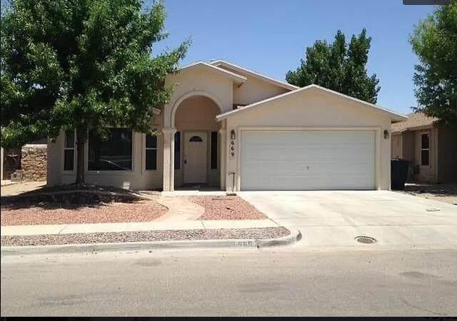 669 Paseo Sereno Drive, Horizon City, TX 79928 (MLS #853026) :: The Matt Rice Group
