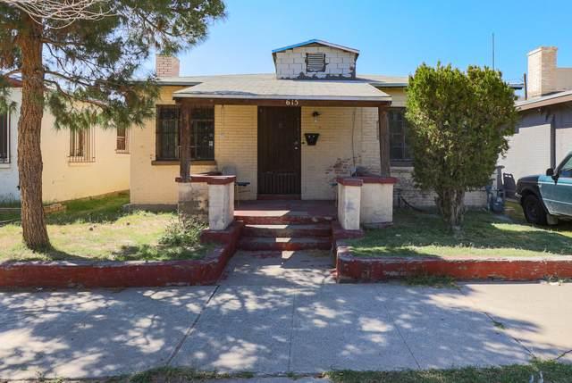 615 N Cebada Street, El Paso, TX 79903 (MLS #853236) :: The Purple House Real Estate Group