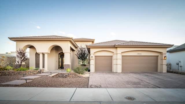 954 Tramonto Vista Court, El Paso, TX 79932 (MLS #853314) :: The Purple House Real Estate Group