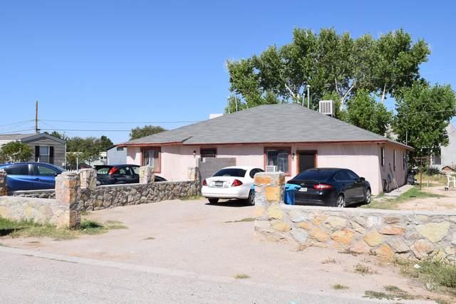 333 Belmore, San Elizario, TX 79849 (MLS #853347) :: Red Yucca Group