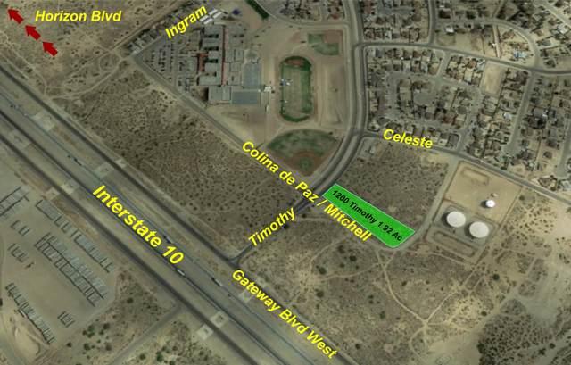 1200 Timothy Drive, El Paso, TX 79928 (MLS #853443) :: Jackie Stevens Real Estate Group