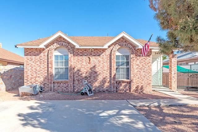 3492 Oxcart Run Street, El Paso, TX 79936 (MLS #853536) :: Jackie Stevens Real Estate Group