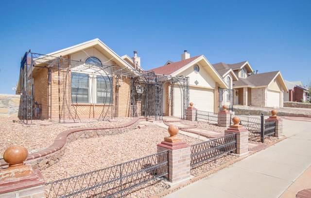 12059 Jose Cisneros Drive, El Paso, TX 79936 (MLS #853557) :: Summus Realty