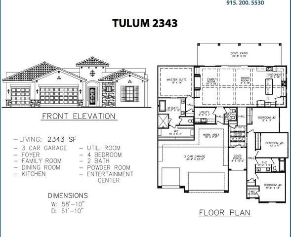 14516 Tierra Resort Avenue, El Paso, TX 79938 (MLS #853571) :: The Purple House Real Estate Group