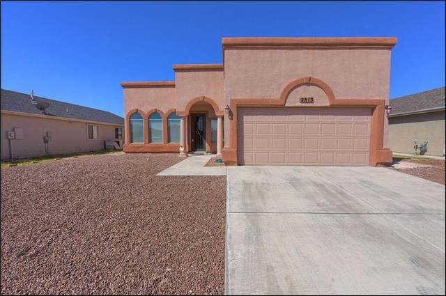 2813 Pasillo Rock Place, El Paso, TX 79938 (MLS #853607) :: The Purple House Real Estate Group
