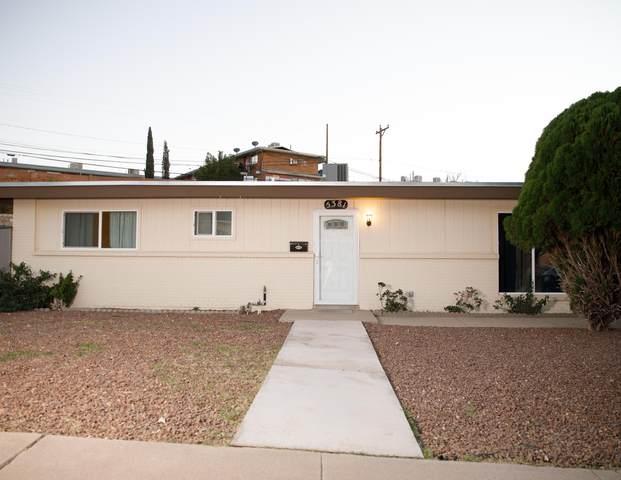 5381 Circus Lane Lane, El Paso, TX 79912 (MLS #853929) :: Mario Ayala Real Estate Group