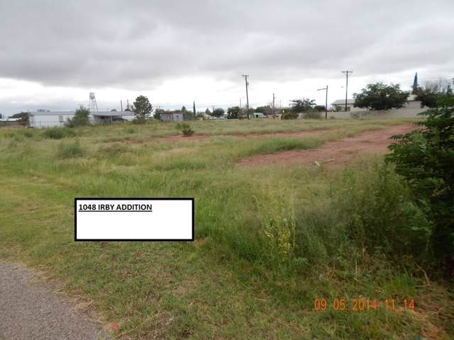 1048 Parcel # 1048 Irby Addition Street, Van Horn, TX 79855 (MLS #810610) :: Preferred Closing Specialists